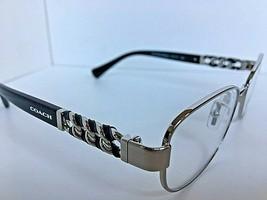New COACH HC 7250Q 1590 Silver 51mm Silver Rx Women's Eyeglasses Frame  - $99.99