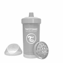 Twistshake Kid Cup 360ml/12oz 12+m Pastel Grey - $12.75
