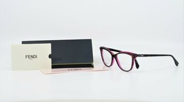 Fendi Women's Cats-Eye Shiny Tortoise/Pink Glasses w/ Case FF 0255 086 53mm - $299.99