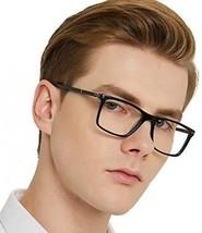 OCCI CHIARI Mens Rectangle Fashion Stylish Acetate Eyewear Frame With C... - $45.44