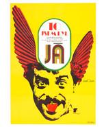 Movie Poster IT WAS I Karel Vaca Graphic Designer 1977 Cinema Art Large A1 - $225.00