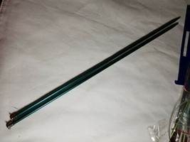 Boye Anodized Aluminum Knitting Needles, US 8, 14 inches Long Preowned - $9.49