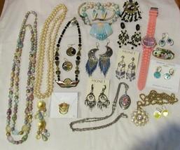 Designer Signed Costume Jewelry Most New Unworn Monet QVC JLo Maria Loran Geneva - $49.50