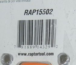 Raptor Professional Tools RAP15502 Demolition Keyhole Saw 6-1/2 inch Blade image 6