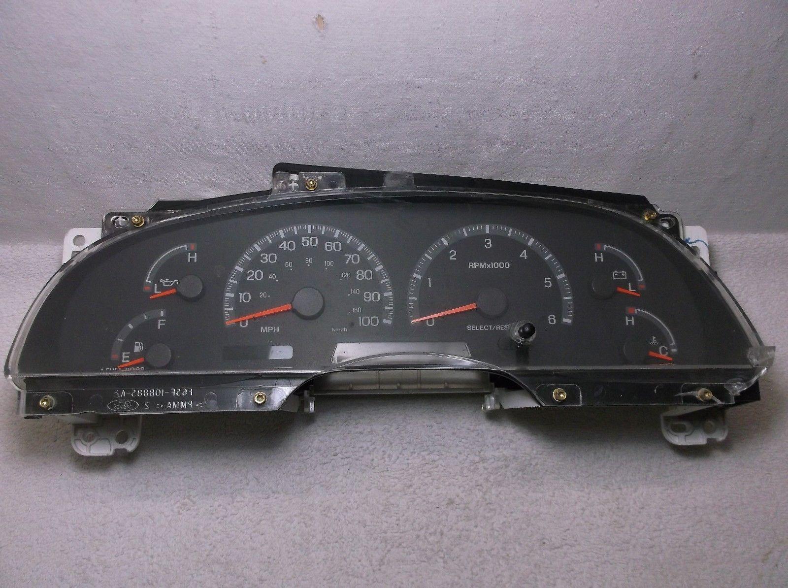 1999  99 F-150  F-250  Expedition Speedometer  Instrument  Gauge  Cluster  Speedo