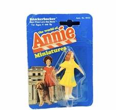 Little Orphan Annie miniature toy figure knickerbocker 1982 moc Grace Re... - $29.65