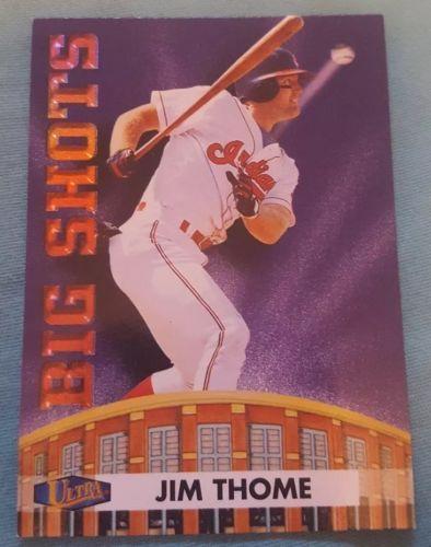 1998 Fleer Ultra Big Shots Cleveland Indians Baseball Card #12 Jim Thome