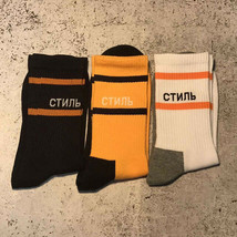 3PAIRS Heron Preston Crane Socks Sexual Men Vetements Off White Skateboard SOCKS image 1