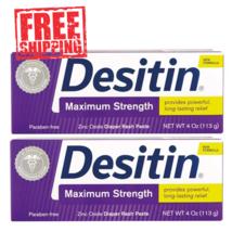 Desitin Maximum Strength Baby Diaper Rash Cream Ointment Paste Treatment... - $14.05