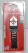 Milwaukee 48900010 Extended Multi Tool Blade 1 One Quarter Inch image 1