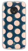 Incipio Motorola M4DE Moto E5 Play/Cruise Hive Gel Case Clear Dots NEW