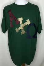 Vintage Alpha Chi Omega Sewn On T-Shirt XL College Sorority #A38 - $31.84