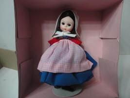 "Madame Alexander Doll 8"" Belgium 562 Nib Nrfb Foreign Land Series Original W/BOX - $24.30"