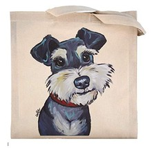 Schnauzer Tote Bag, Schnauzer Lover Gifts, Schnauzer Gifts - $36.64