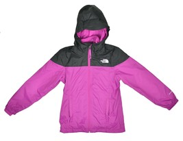 The North Face Girls Molly Triclimate Jacket, WILDASTRPR/TNF Black, Sz M... - $138.59