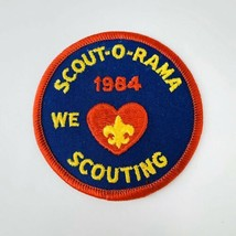 Vintage BSA Boy Scouts of America Patch Mid America Council 1984 Scout O Rama - $19.00