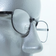 Reading Glasses Mini Oval Matte Black Metal Small Frame +3.00 Lens - $18.00