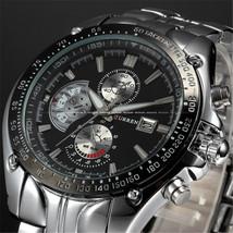 Fashion Casual Brand CURREN Sports Quartz Men's Wrist Watch Big Dial Waterproof  - $32.03