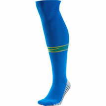 Brazil Socks Nike 2018 Away Blue World Cup Kit Cushioning Brasil Meias S... - $18.18