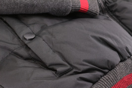 Men's Hybrid Puffer Lightweight Utility Insulated Hooded Quilted Zipper Jacket image 4