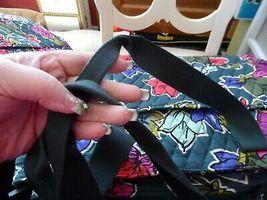 Vera Bradley TRiple compartment travel bag pattern in Falling Flowers image 3