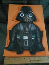 New Hallmark Star Wars Googly eyes XL Halloween Display Me Card w/ enve... - $8.90