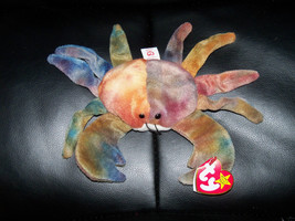 "Ty Original Beanie Babies -  ""Claude"" The Crab - Retired  w/ Hang Tag NEW - $32.40"