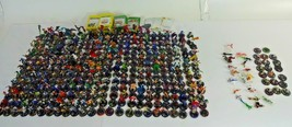 HUGE Lot Of 334 Heroclix Action Figure Game Mix Pieces + some ID Cards Marvel DC - $284.99