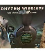 Rhythm Wireless Sound Activated  Light Up Headphones New Sealed - $18.42