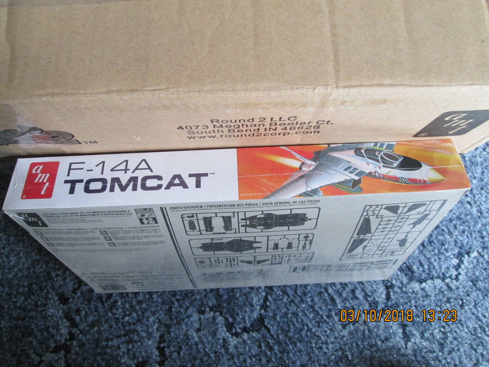 AMT F-14A Tomcat 1/48 scale