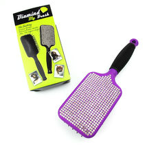 New Professional Paddle Brush Hair Styling Tool - Crystal Edition Pretty... - $12.99