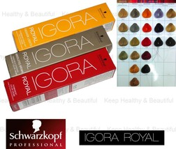 1x Schwarzkopf IGORA Permanent Color Creme Specialities/Highlifts 60ml  - $9.50