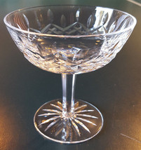 """Waterford Lismore Champagne Tall Sherbet Glass Clear Crystal  4-1/8""""-Replacement - $32.71"""