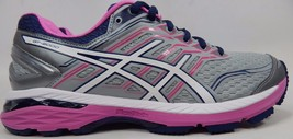 Asics GT 2000 v 5 Women's Running Shoes Sz US 9 2A NARROW EU 40.5 Silver... - $70.33