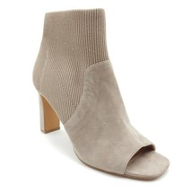 Steve Madden Womans High Heel Ankle Boot Beige Suede Cushioned Insole Sz... - $27.74
