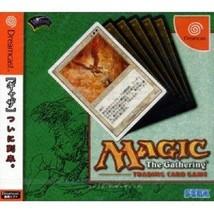 MAGIC THE GATHERING Dreamcast Sega Video Game Japan Japanese  - $233.78