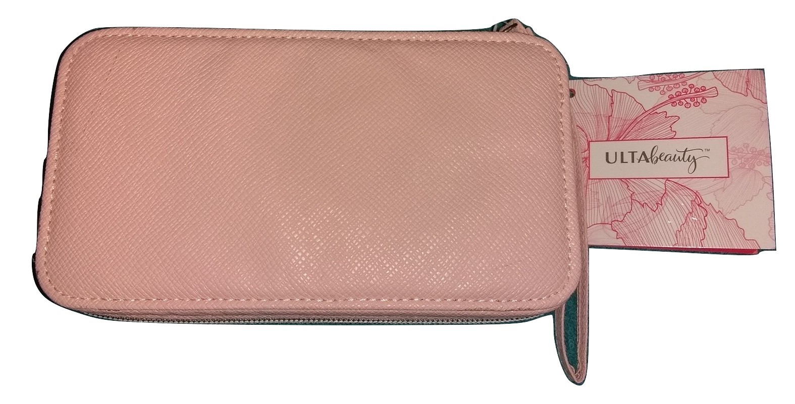 Ulta Beauty pink travel makeup cosmetic case New with tags - $14.00