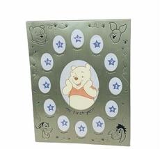 Walt Disney Frame Winnie Pooh eeyore vtg classic pregnancy timeline first year  - $34.60