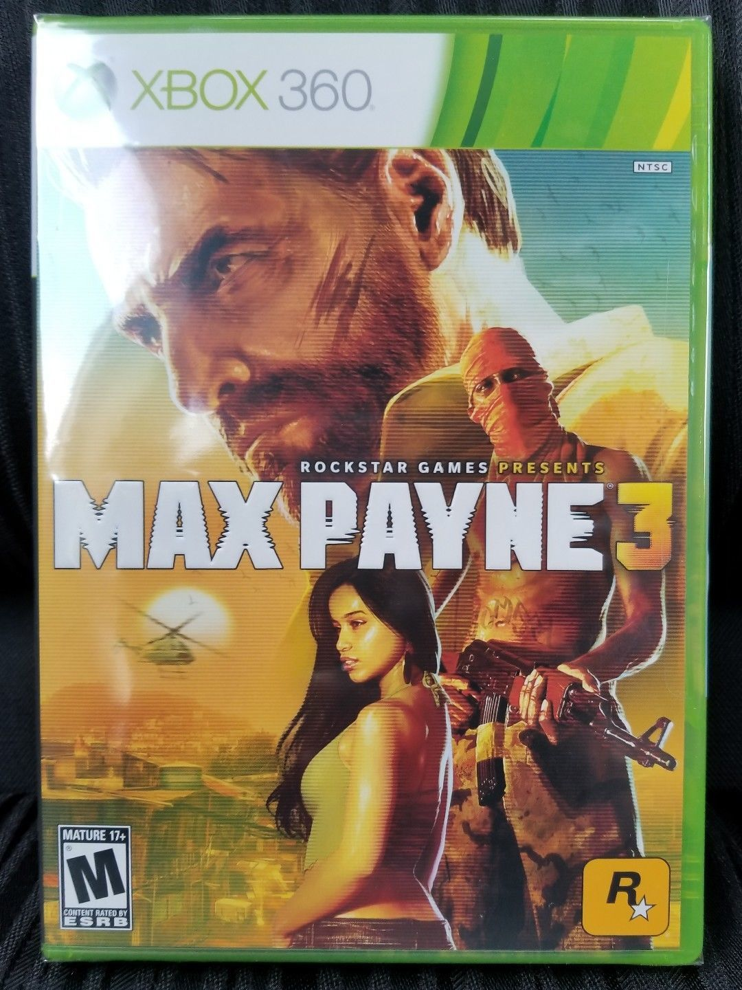 Max Payne 3 - Xbox 360 - Brand New | Factory Sealed