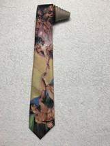 1994 Ralph Marlin Men's Tie Creation Of Adam Vintage Artistic Art Necktie Tie - $15.83