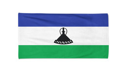 Lesotho Flag Beach Towel Swimming Towels Summer Holiday Towels Gym Towel - $24.99+