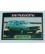 1976 Topps Autos of 1977 Porsche Audi Fox Wagon Car Card #80 VG-EX Condi... - $17.80