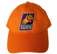 NBA Basketball hat cap vtg Phoenix Suns Charles Barkley Kevin Johnson Ad... - $19.25