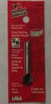 "Vermont American 22180 3/16"" HSS Point Cutting Quarter Round Router Bit USA - $2.97"