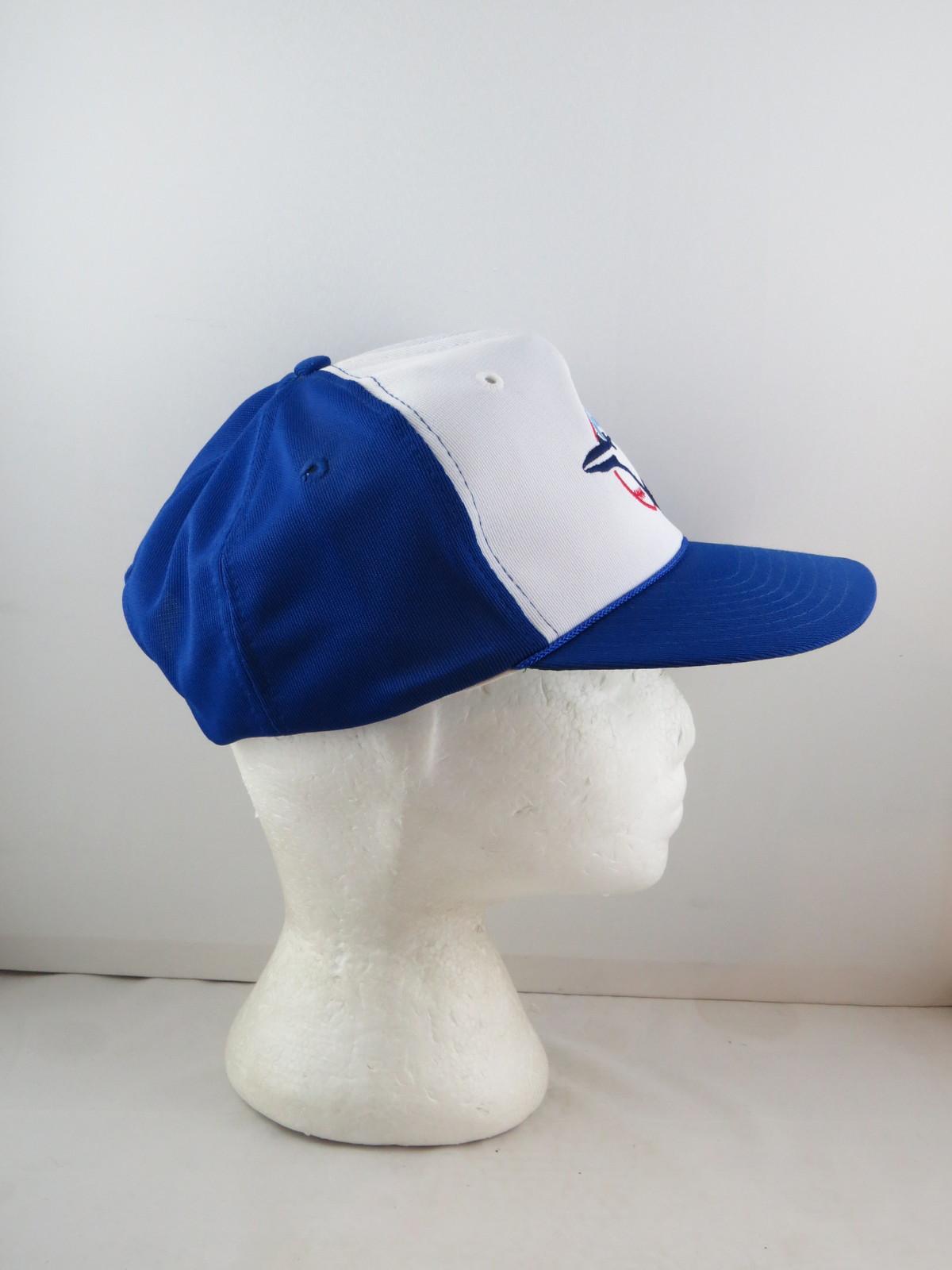 Toronto Blue Jays Hat (VTG) - Polyester Classic by Twins - Adult Snapback