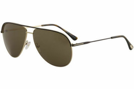 Tom Ford Erin TF466 TF/466 50J Brown/Rose Gold Fashion Pilot Sunglasses ... - $405.90