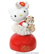 Free shipping Hello Kitty 40th Ceramic Porcelain Lace Doll Music Box Plu... - $113.85
