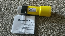 Thomas & Betts Russellstoll Connector Assembly 50A   250VAC - new open box - $14.85