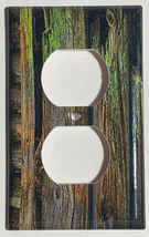 Color Barn Wood Light Switch Outlet Toggle Rocker Wall Cover Plate Home Decor image 3