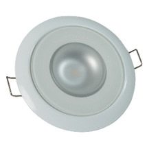 Lumitec Mirage - Flush Mount Down Light - Glass Finish/White Bezel - Whi... - $52.86